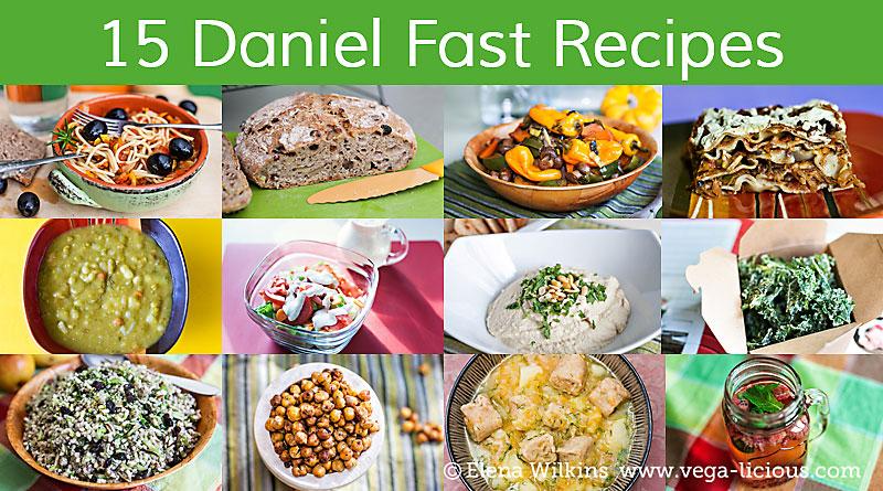 Delicious Daniel Fast Recipes Vegalicious