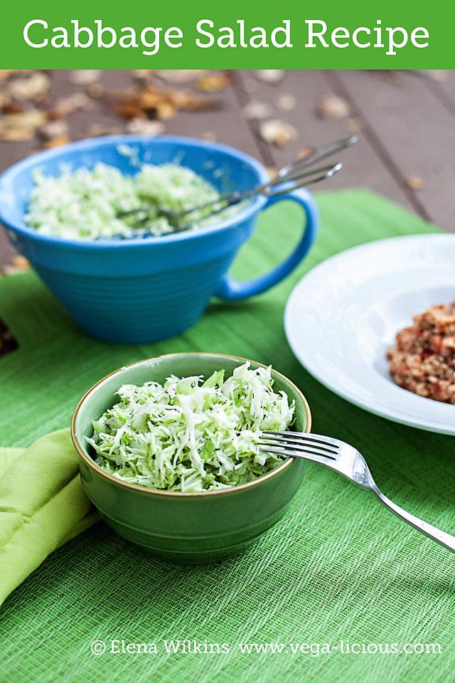 cruciferous cabbage salad