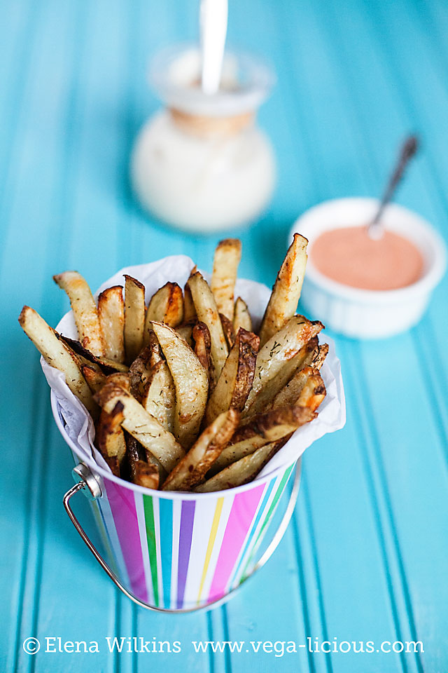 low fat french fries